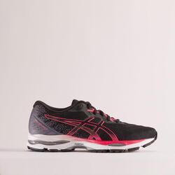 Hardloopschoenen voor dames Gel Ziruss 4 zwart/roze