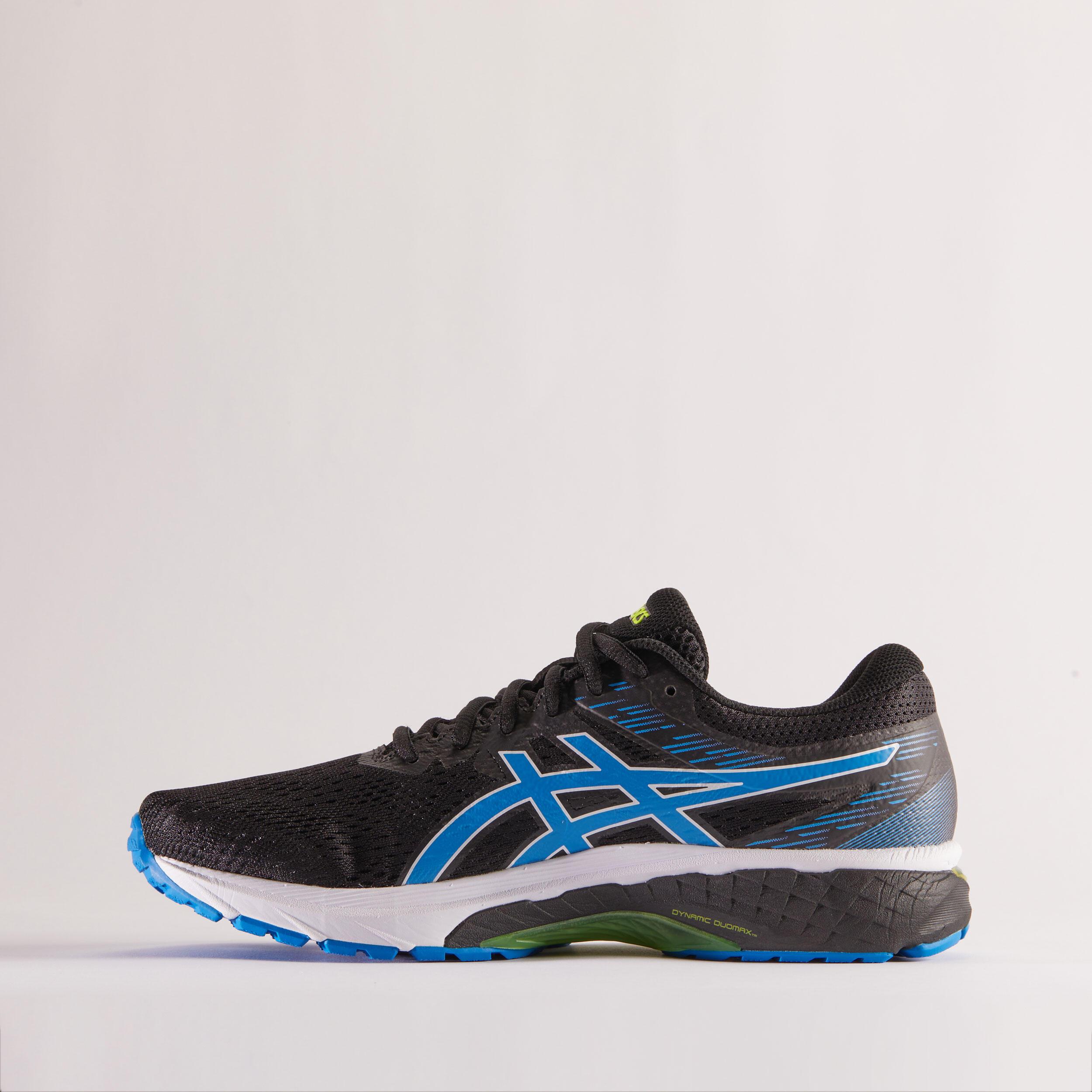 ASICS GEL GLYDE 3 MEN'S RUNNING SHOES - BLACK BLUE - Decathlon