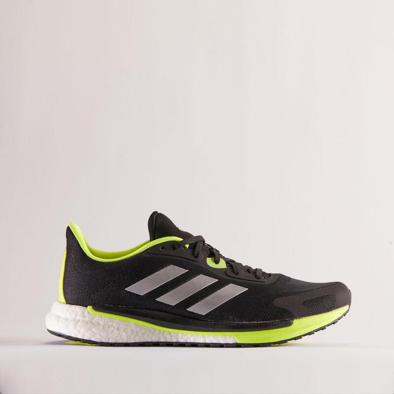Zapatillas Running Adidas Supernova Unite Hombre Negro/Amarillo