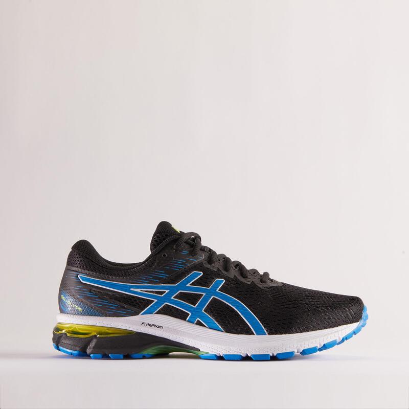Zapatillas Asics Gel Glyde 3 Hombre Running Negro Azul