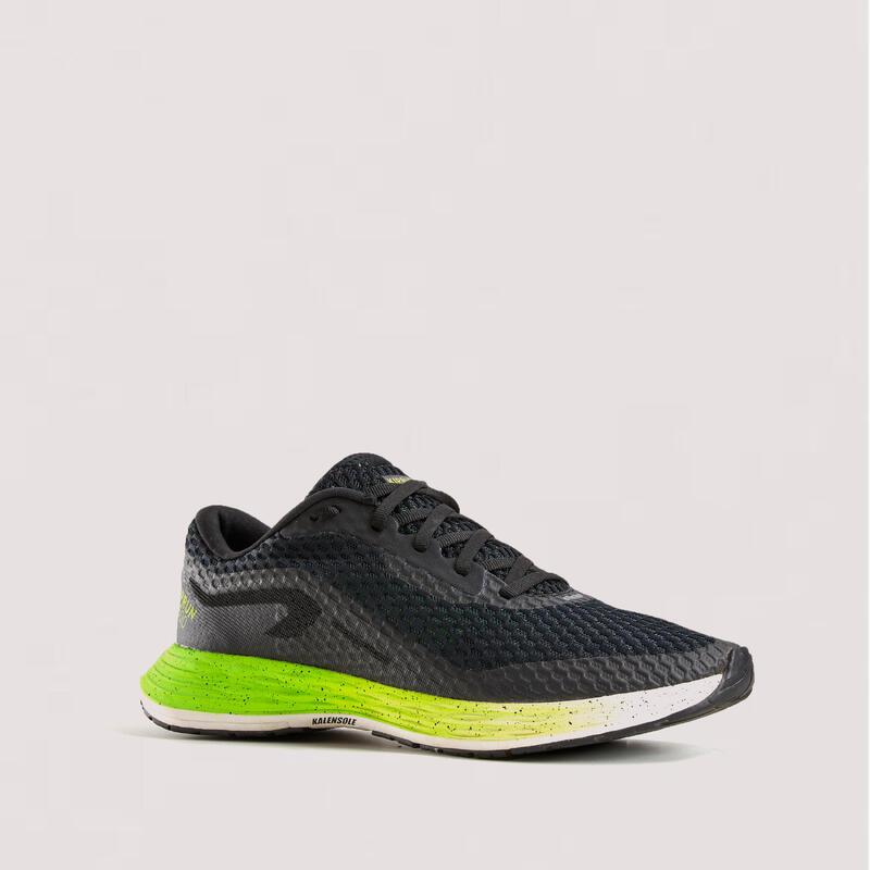 Dynamische hardloopschoenen voor heren KD500 zwart/groen
