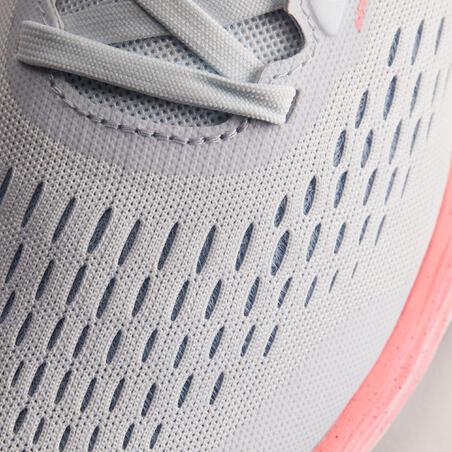 Women's Running Shoe Kiprun KS Light - grey light pink