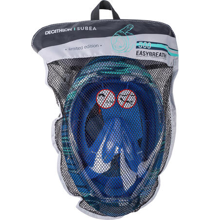 Surface snorkelling mask Easybreath 500 - swell