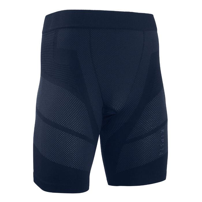 Ondershort voor voetbal volwassenen Keepdry 500 donkerblauw