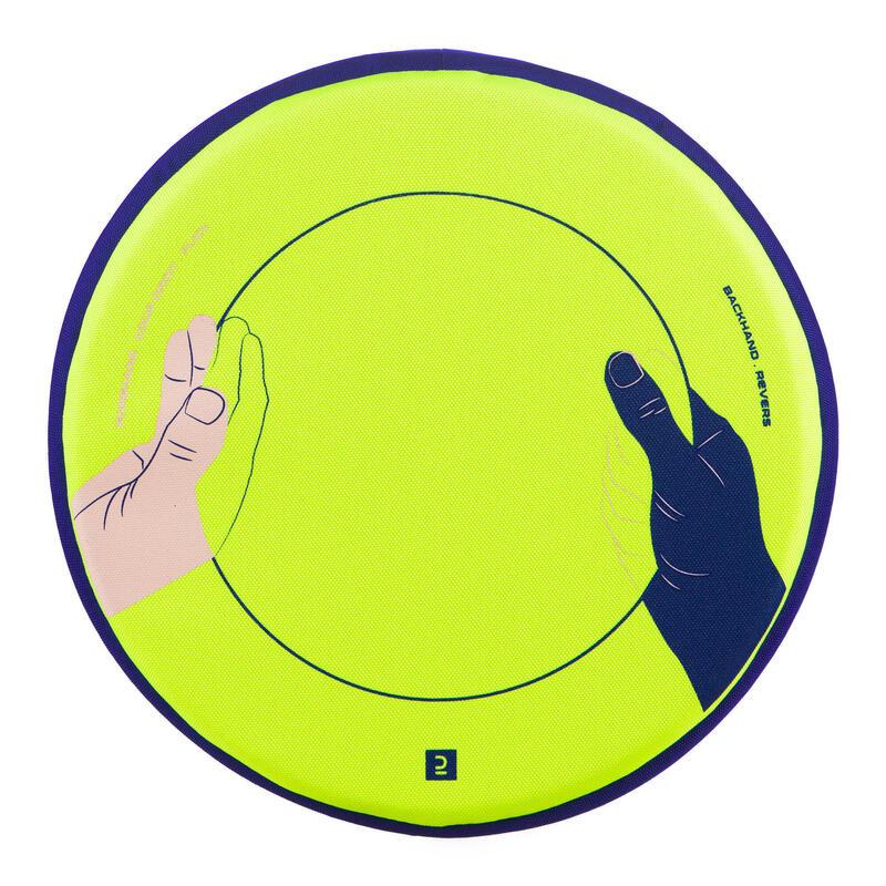 Frisbee Ultrasoft hands geel