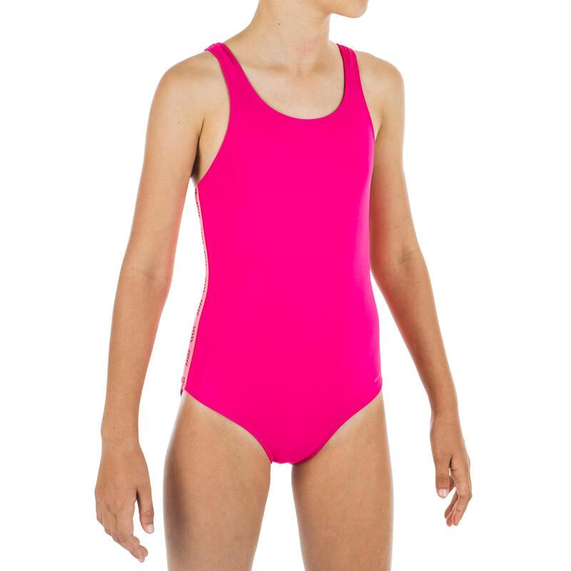 Bañador de natación niña 1 Pieza Vega Rosa