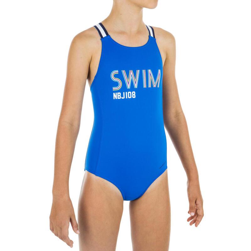 Dívčí plavky jednodílné Vega Swim modré