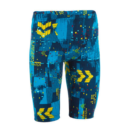 JAMMERS RENANG ANAK LK FITI - ALL MAP TURQUOISE GREEN
