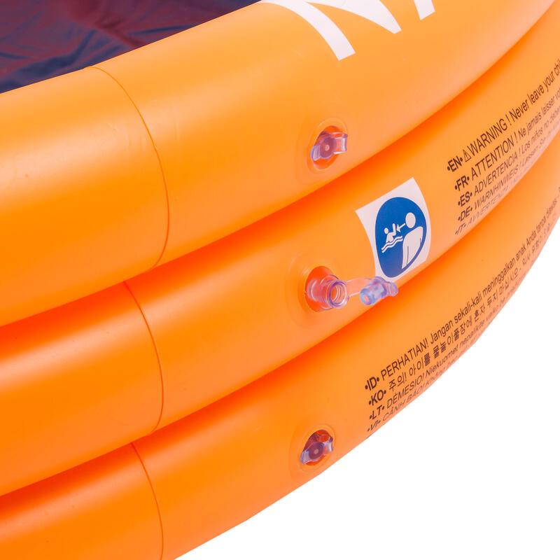 Inflatable Paddling Pool - Orange