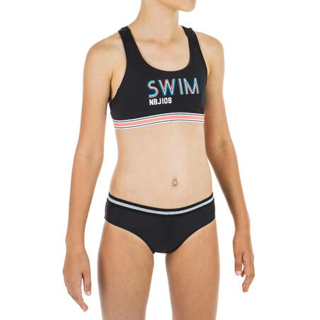 Girls' swimsuit bottoms - Black