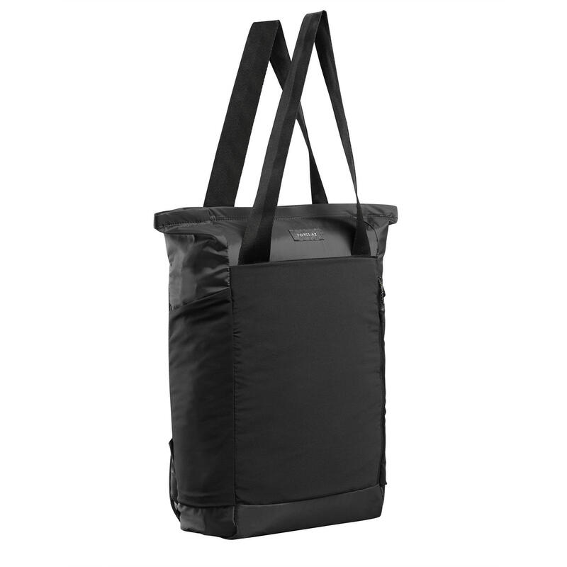Compact 2-in-1 Tote Bag - TRAVEL 15L Black