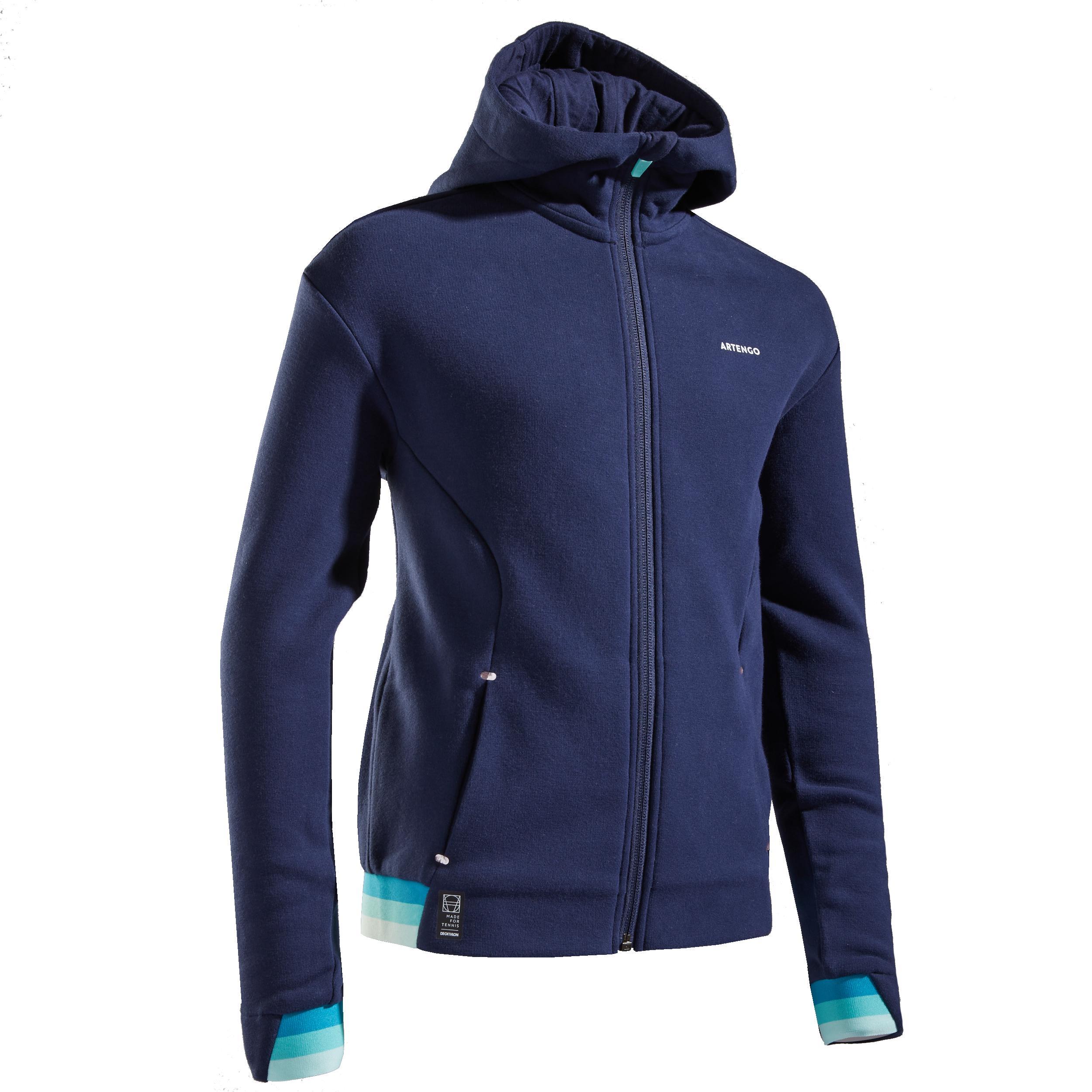 Jachetă Termică Tenis Fete la Reducere poza