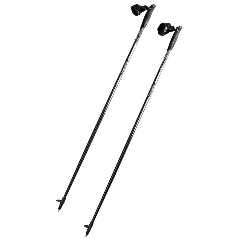 Bâtons marche nordique NW P100 noir / gris