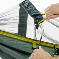 Hamaca de viaje antimosquitos Tropic 500 verde - 1 persona