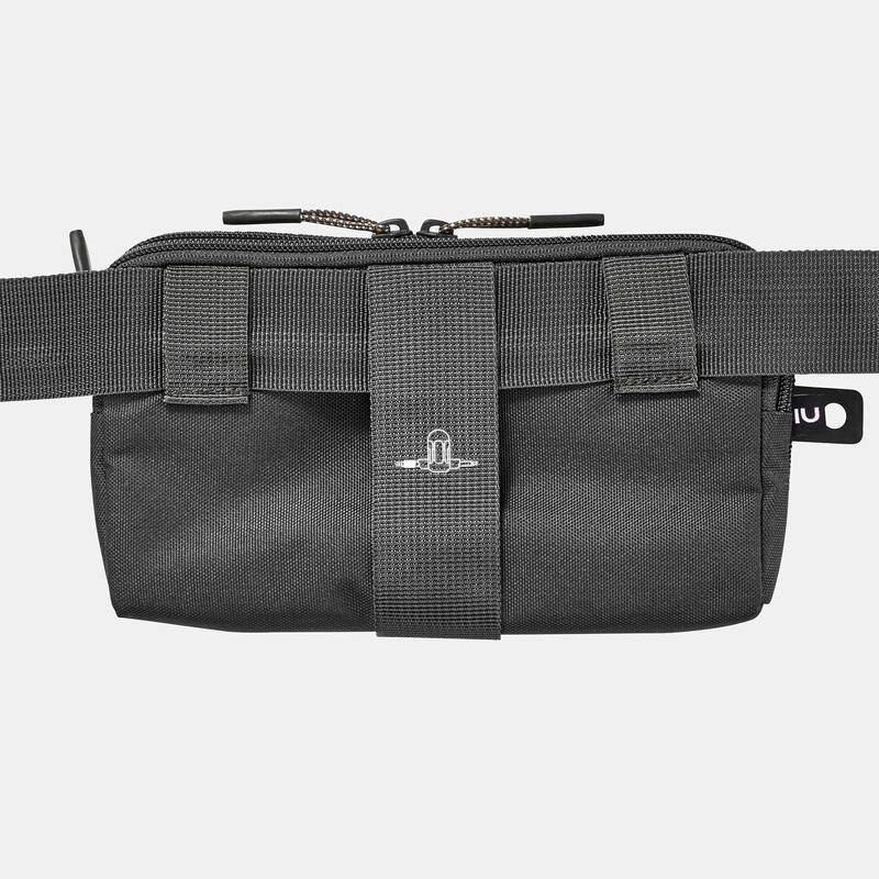 Travel trekking large organizer wallet - TRAVEL XL - Black