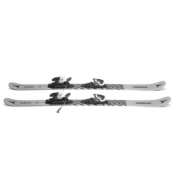 SKIS DE FREESTYLE FREERIDE ATOMIC PUNX JUNIOR PACK SKI FIXATION