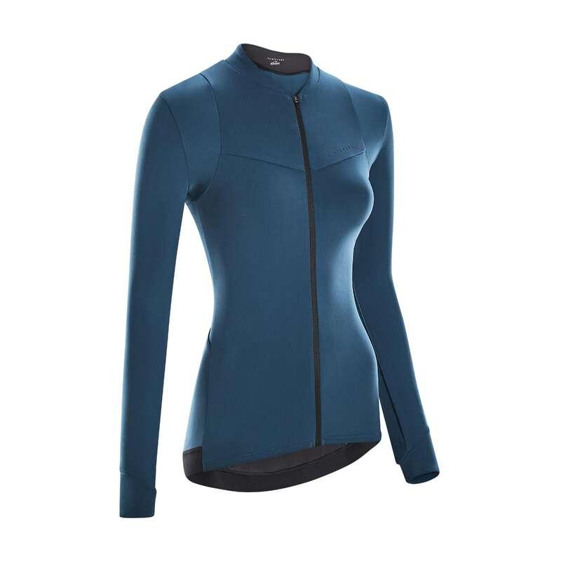 Теплая женская экипировка для прохладной погоды - CYCLING Велоспорт - Трико д/велоспорта ML RCR жен VAN RYSEL - Семьи и категории