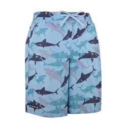 衝浪褲SHARK-藍色