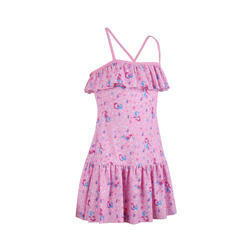 一件式泳裝Hanae-粉紅色/人魚款