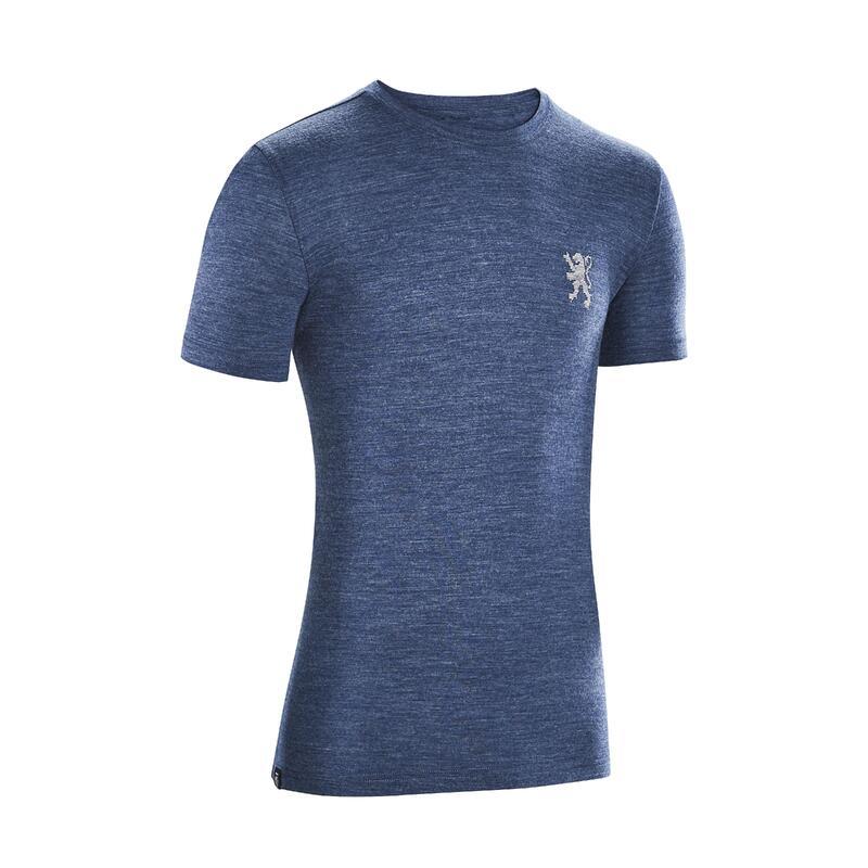 Pavé Lifestyle Collection, Merino T-Shirt - Blue