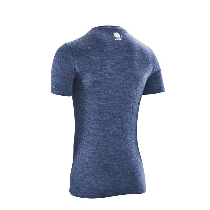 TEE-SHIRT Collection Pavés bleu