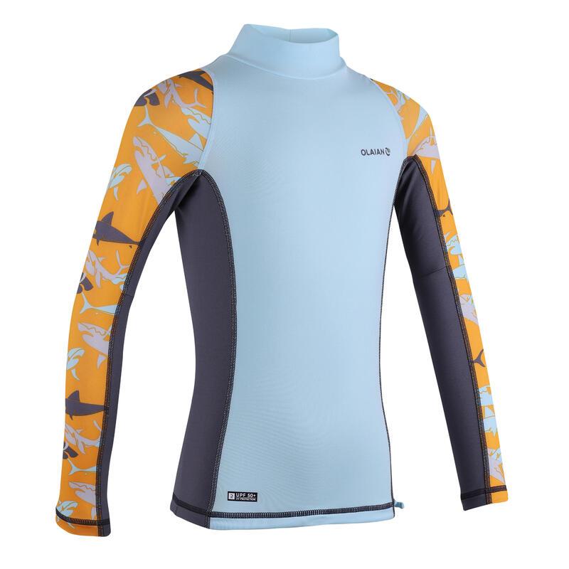 เสื้อป้องกันรังสียูวีสำหรับเด็กผู้ชายรุ่น 500L