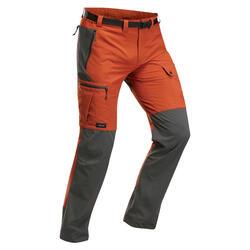 Pantalon résistant de trek montagne - TREK 500 ocre - homme