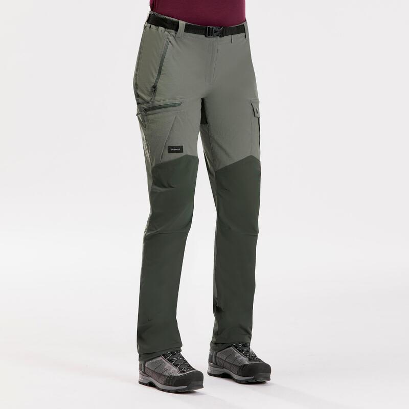 Pantalones Mujer de Montaña y Trekking Forclaz TREK 500