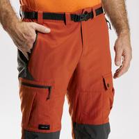 """Vyriškos tvirtos kalnų žygių kelnės """"Trek 500"""", rudos"""