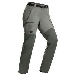 Pantalon résistant de trek montagne - TREK 500 kaki - Femme v2