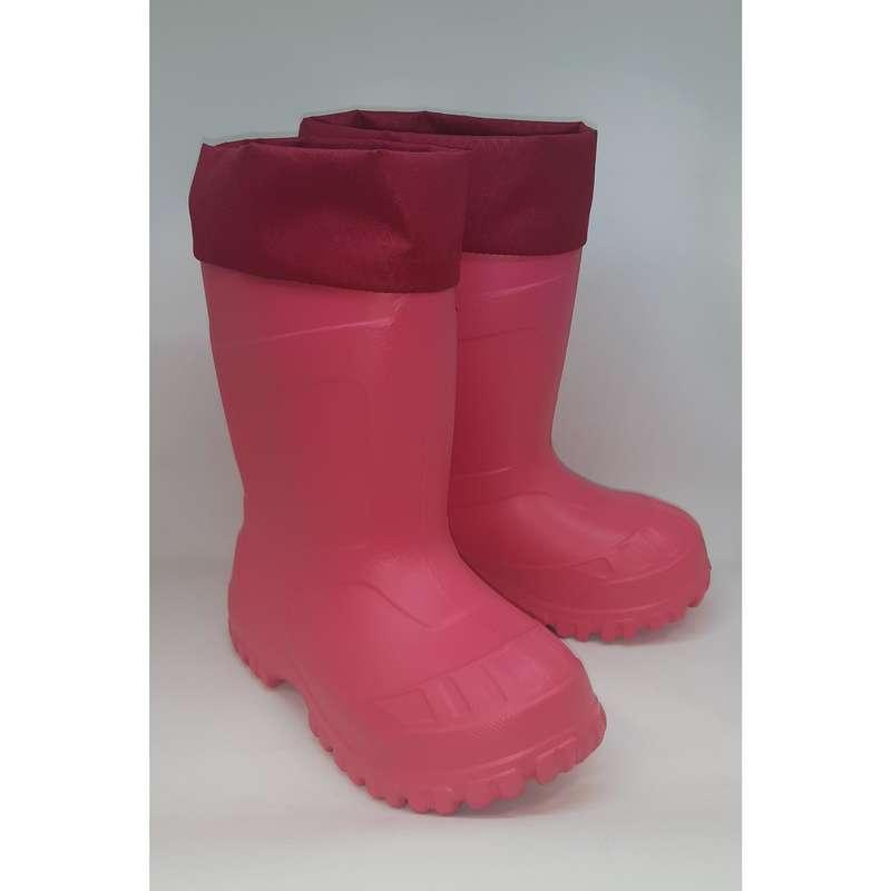 ДЕТСКАЯ ОБУВЬ \ ЗИМНИЕ ПОХОДЫ Удобная обувь для походов - Сапоги SH100 x-warm QUECHUA - Бутик