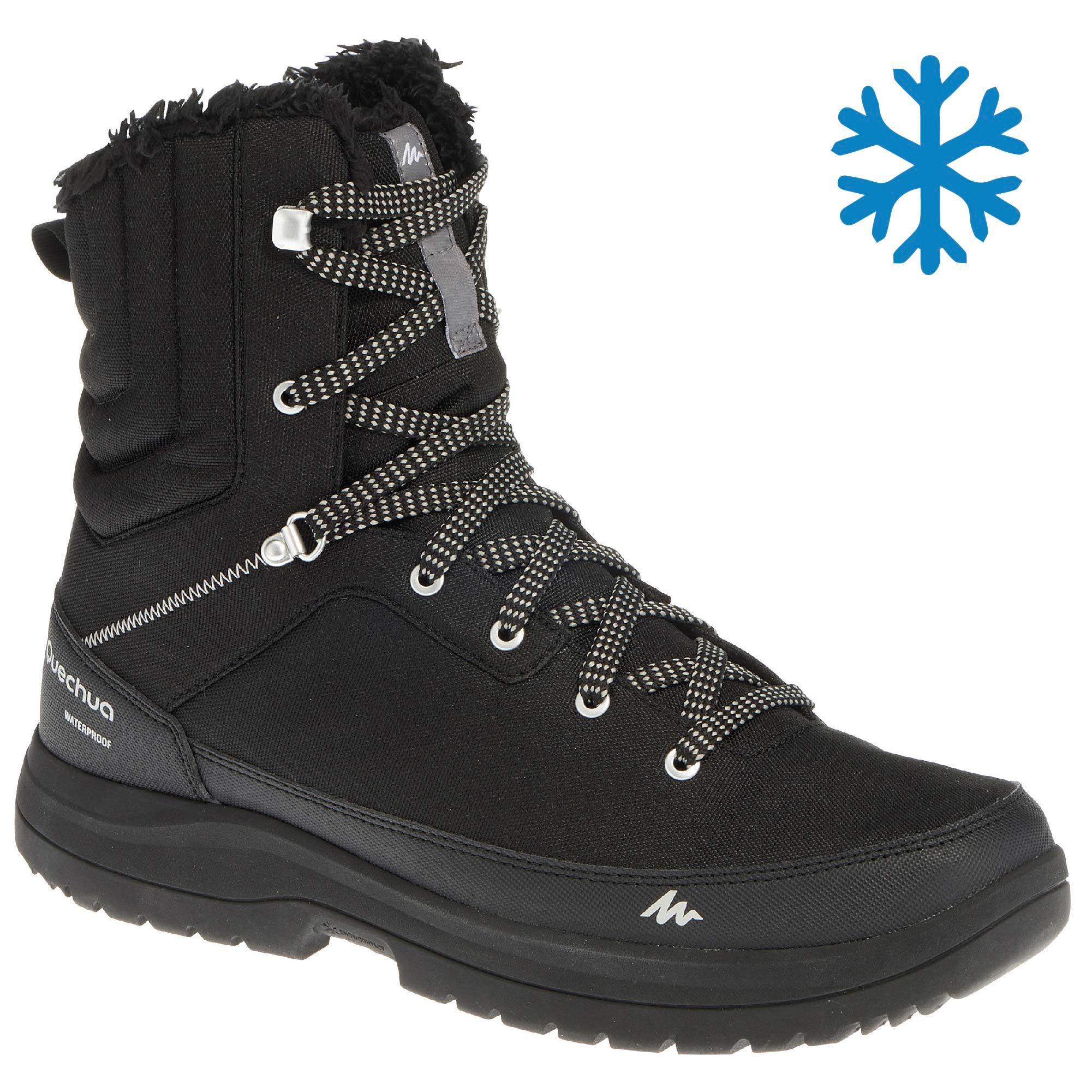 SH100 Quechua Snow Hiking Boots