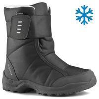 נעליים מחממות במיוחד לנשים דגם SH100 לטיולי הרים - שחור