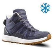 Women's Snow Shoes WARM & WATERPROOF SH100 X-WARM - Blue