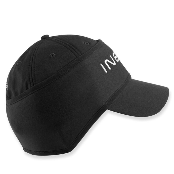 Golf Cap Stirnband warm Damen schwarz