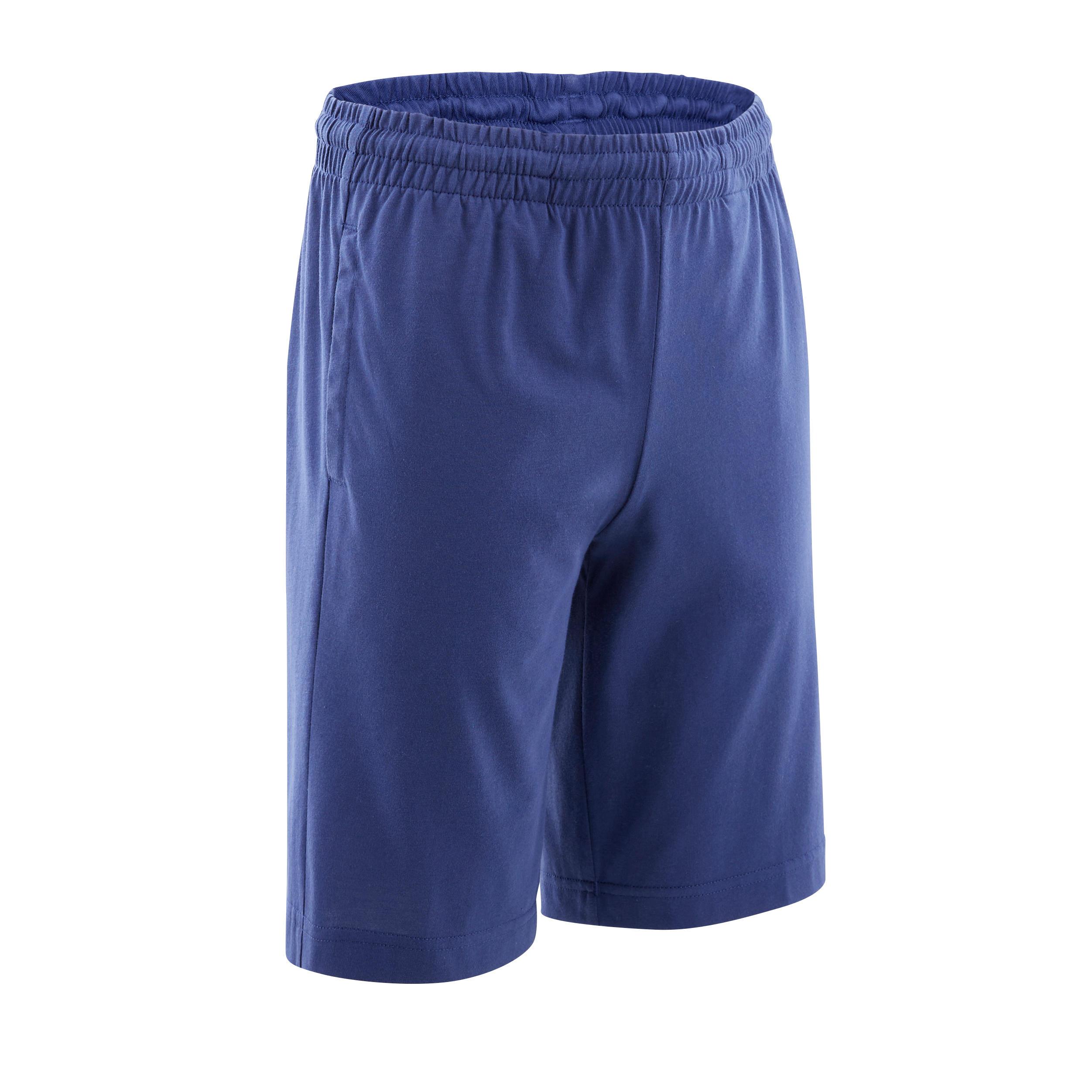 Shorts kurz mit Adidas-Logo auf dem Oberschenkel