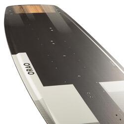 """PLANCHE DE KITESURF """"TWIN TIP 500"""" CARBONE - 138X41CM (PADS ET STRAPS INCLUS)"""