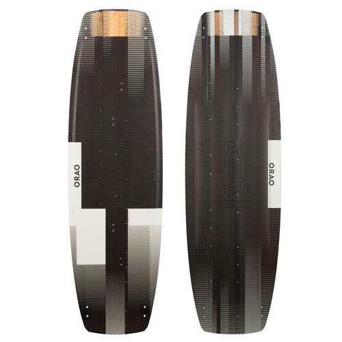 PLANCHE DE KITESURF ''TWIN TIP 500'' CARBONE - 138X41CM (PADS ET STRAPS INCLUS)
