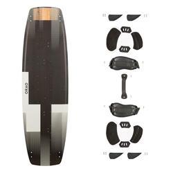Kiteboard Kitesurfen Twin Tip 500 Carbon 138×41cm inkl. Pads und Straps
