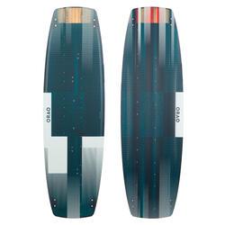 """PLANCHE DE KITESURF """"TWIN TIP 500"""" CARBONE - 136X40,5CM (PADS ET STRAPS INCLUS)"""