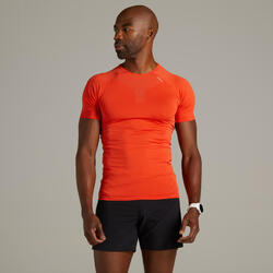 Kiprun Skincare Men's Running Breathable T-shirt - red