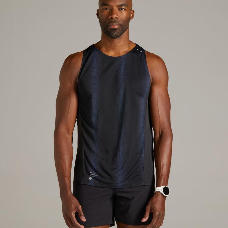 Koszulka do biegania bez rękawów męska Kiprun light