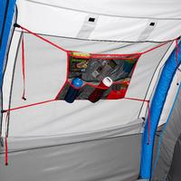 Filet universel pour tente ou séjour de camping - 6 poches de différents formats
