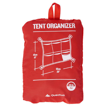 UNIVERSAL CAMPING TENT OR LIVING ROOM NETTING - 6 POUCHES WITH DIFFERENT FORMATS