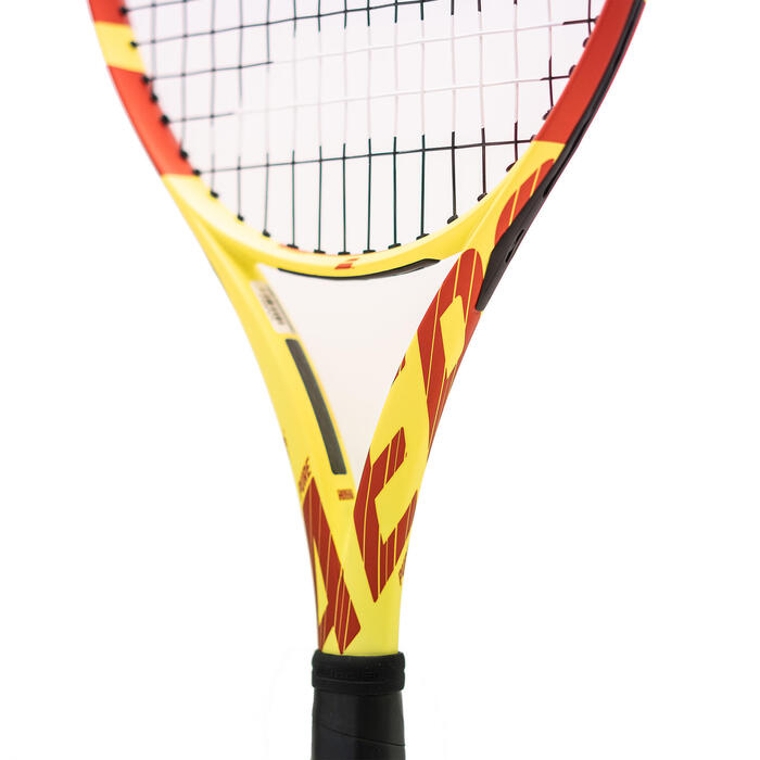 Raquette de tennis adulte Pure Aero Team Jaune Rouge