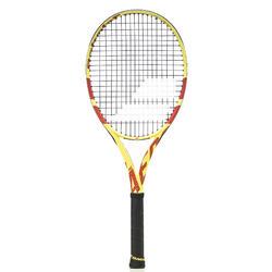 Tennisracket voor volwassenen Pure Aero Team geel/rood