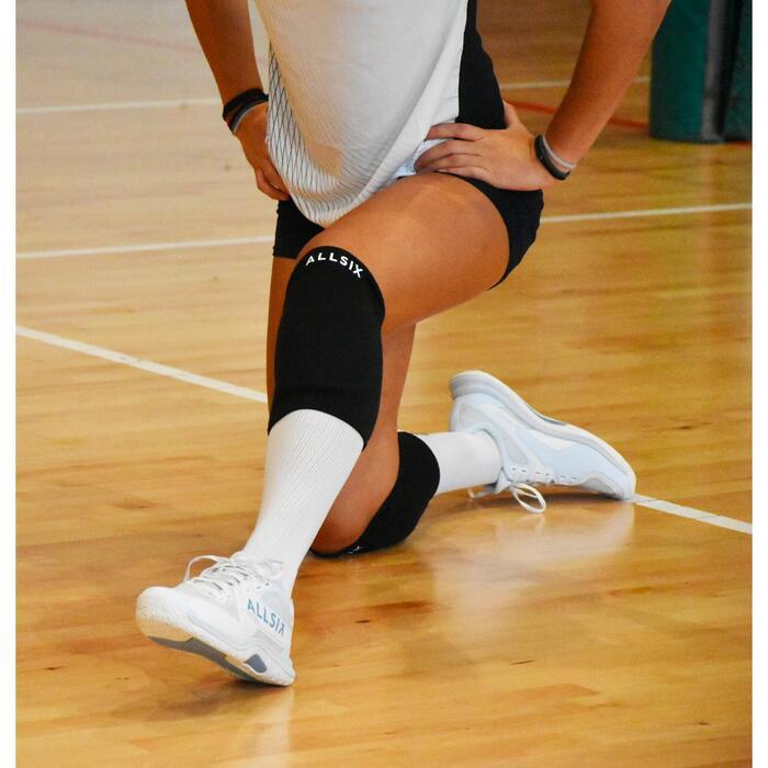 Kniebeschermers voor volleybal VKP500 zwart