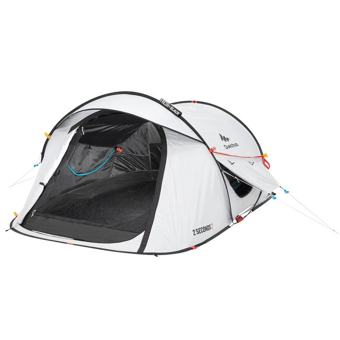 Tente de camping 2 SECONDS 2 FRESH&BLACK | 2 personnes blanche - 192823