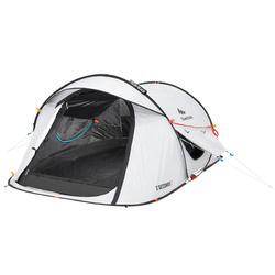e6341387d86 Tente de camping 2 SECONDS 2 FRESH BLACK  PIPE  2 personnes blanche