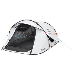 Pop up tent 2 Seconds 2 Fresh & Black I 2 personen wit